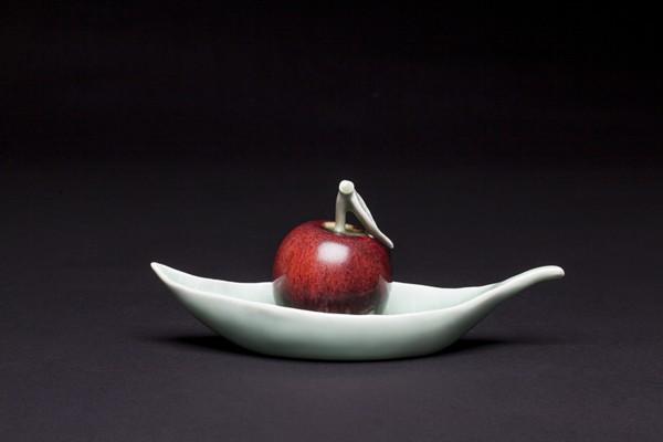 窑变红苹果