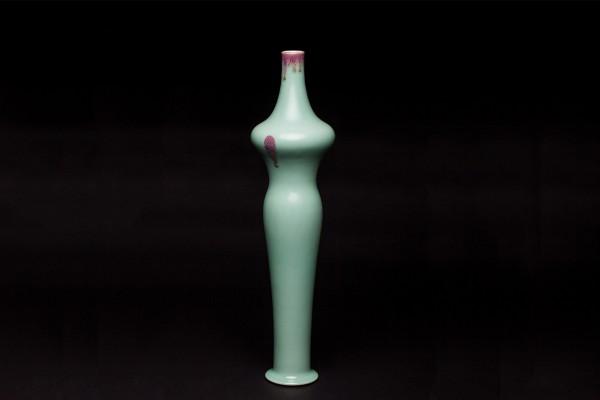 窑变美人瓶