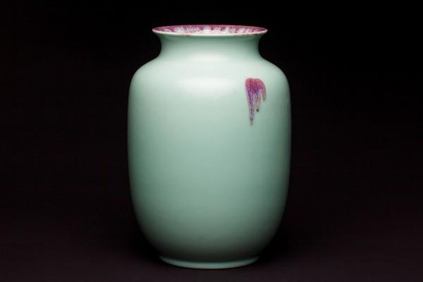 窑变灯笼瓶