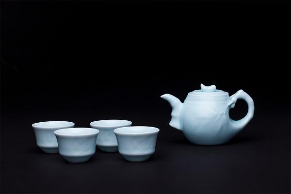 竹节茶具套礼